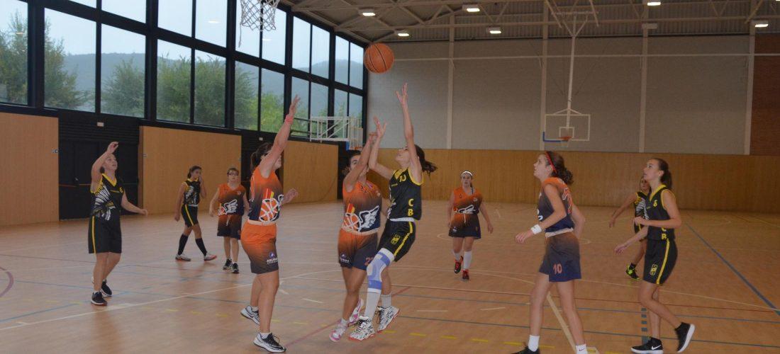 2018-10-28 Unió Esportiva Cellera Amer Hipra - Club Bàsquet Olot C - Cadet Femení (4)