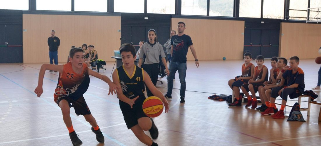 2019-02-09 Unió Esportiva Cellera Amer Preinfantil - club bàsquet Olot (5)