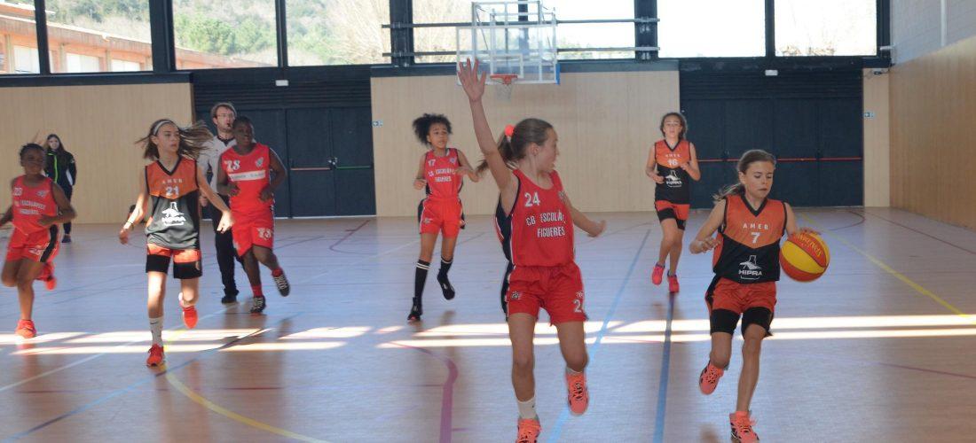 2019-03-02 Mini Femení, unió Esportiva Cellera Amer - Escolapies Figueres (4)