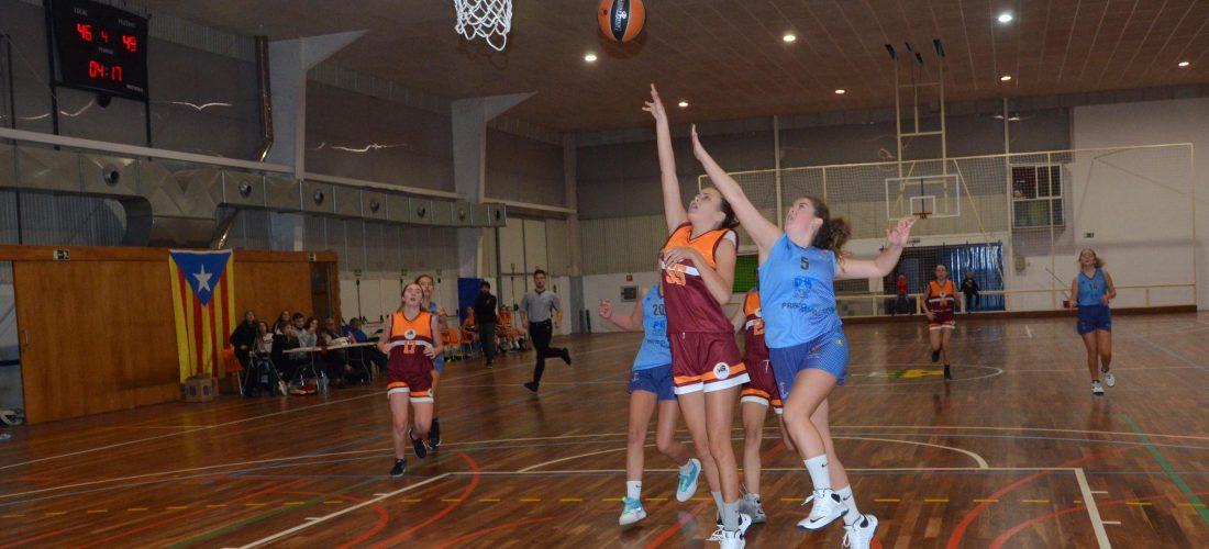 2019-11-09 Unió Esportiva Cellera Amer Les Planes - Club Bàsquet L'escala Cadet Femení B (9)