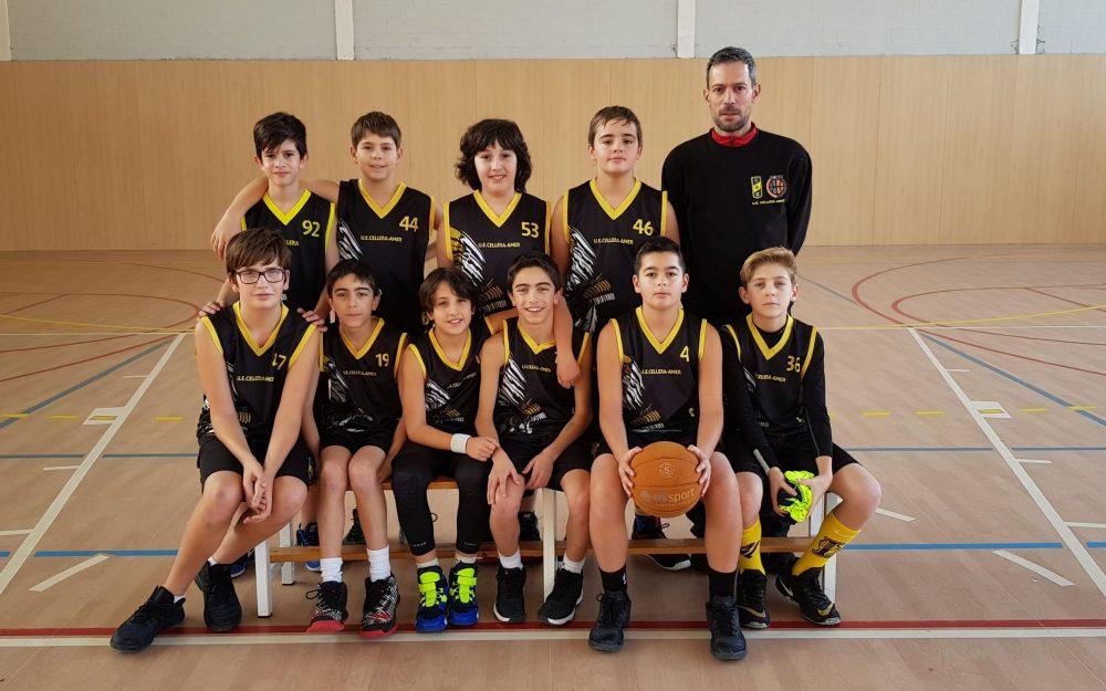 Preinfantil Masculí Temporada 2018-19 Foto d'equip desembre 2018