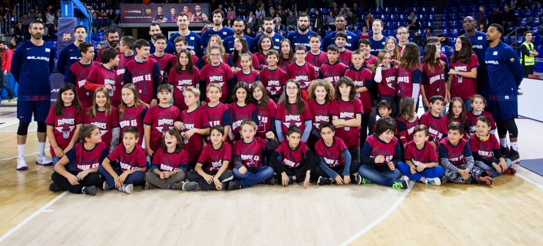 visita al Palau Blaugrana - Unió Esportiva Cellera Amer (4)