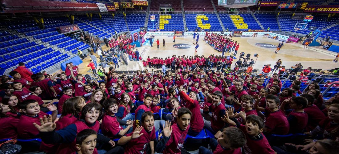visita al Palau Blaugrana - Unió Esportiva Cellera Amer (5)